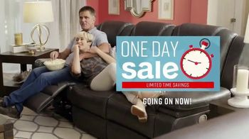 Ashley HomeStore One Day Sale TV Spot, 'Additional Savings: Sofas & Mattresses' Song by Midnight Riot - Thumbnail 2