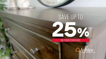 Ashley HomeStore One Day Sale TV Spot, 'Additional Savings: Sofas & Mattresses' Song by Midnight Riot - Thumbnail 3