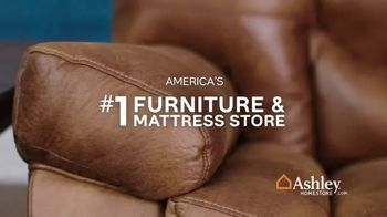 Ashley HomeStore One Day Sale TV Spot, 'Additional Savings: Sofas & Mattresses' Song by Midnight Riot - Thumbnail 7