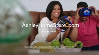 Ashley HomeStore One Day Sale TV Spot, 'Additional Savings: Sofas & Mattresses' Song by Midnight Riot - Thumbnail 9