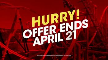 Six Flags Easter Sale TV Spot, 'Save on Season Passes' - Thumbnail 9