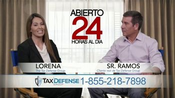 The Tax Defense Group TV Spot, 'Señor Ramos' [Spanish]