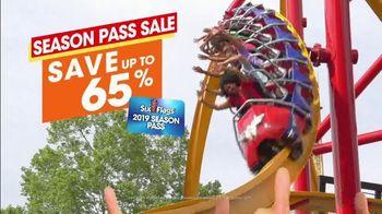 Six Flags Easter Sale TV Spot, 'Season Passes: Save Up To 65 Percent' - Thumbnail 3