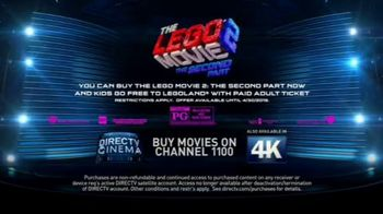DIRECTV Cinema TV Spot, 'The LEGO Movie 2: The Second Part' - Thumbnail 8