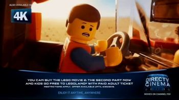 DIRECTV Cinema TV Spot, 'The LEGO Movie 2: The Second Part' - Thumbnail 1