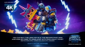 DIRECTV Cinema TV Spot, 'The LEGO Movie 2: The Second Part' - Thumbnail 2