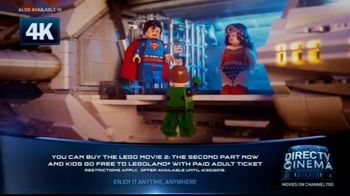 DIRECTV Cinema TV Spot, 'The LEGO Movie 2: The Second Part' - Thumbnail 3