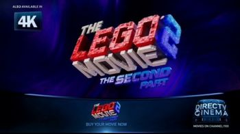 DIRECTV Cinema TV Spot, 'The LEGO Movie 2: The Second Part'