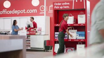 Office Depot 1 Hour In-Store Pickup TV Spot, 'For the Team: Coupon' - Thumbnail 1