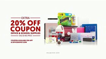 Office Depot 1 Hour In-Store Pickup TV Spot, 'For the Team: Coupon' - Thumbnail 8