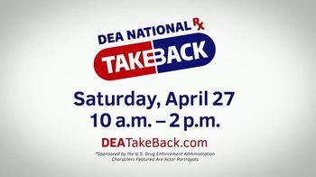 US Drug Enforcement Administration (DEA) TV Spot, '2019 DEA Takeback Day' - Thumbnail 8