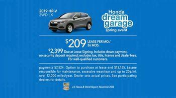Honda Dream Garage Spring Event TV Spot, 'CR-V and HR-V' Featuring James Hinchcliffe [T2] - Thumbnail 9