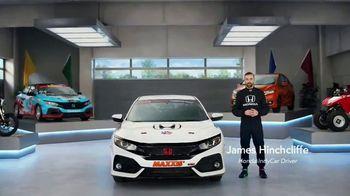 Honda Dream Garage Spring Event TV Spot, 'CR-V and HR-V' Featuring James Hinchcliffe [T2] - Thumbnail 1