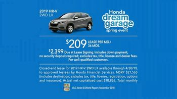 Honda Dream Garage Spring Event TV Spot, 'CR-V and HR-V' Featuring James Hinchcliffe [T2] - Thumbnail 8