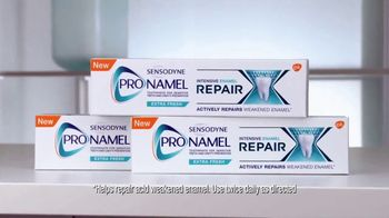 ProNamel Intensive Repair Toothpaste TV Spot, 'Actively Repair' - Thumbnail 3
