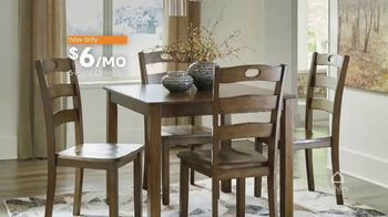 Ashley HomeStore Lowest Prices of the Season TV Spot, 'Five-Piece Dining Set' - Thumbnail 5