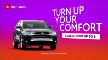Toyota TV Spot, 'Turn Up Comfort and Safety' [T2] - Thumbnail 2