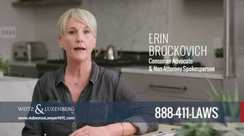 Weitz and Luxenberg TV Spot, 'Asbestos' Featuring Erin Brockovich - Thumbnail 1