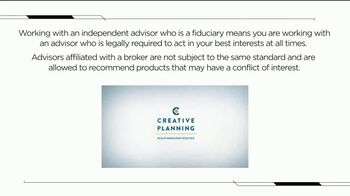 Creative Planning TV Spot, 'Financial Tip: Independent Advisors'