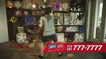 ARS Rescue Rooter Free A/C Service Call Special TV Spot, 'Fan Wall'