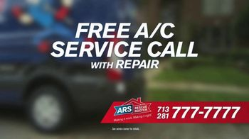 ARS Rescue Rooter Free A/C Service Call Special TV Spot, 'Fan Wall' - Thumbnail 5