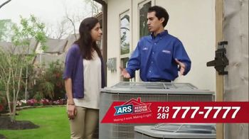 ARS Rescue Rooter Free A/C Service Call Special TV Spot, 'Fan Wall' - Thumbnail 6