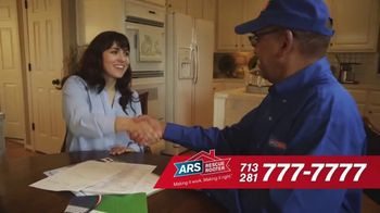 ARS Rescue Rooter Free A/C Service Call Special TV Spot, 'Fan Wall' - Thumbnail 8