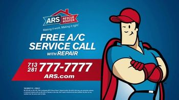 ARS Rescue Rooter Free A/C Service Call Special TV Spot, 'Fan Wall' - Thumbnail 9