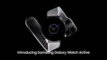Samsung Galaxy Watch Active TV Spot, 'Reach Your Goals' - Thumbnail 1