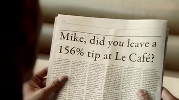 Capital One Eno TV Spot, \'Newspaper\'