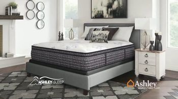 Ashley HomeStore One Day Mattress Sale TV Spot, 'Extended: Pillow Top Queen Mattresses' Song by Midnight Riot - Thumbnail 6
