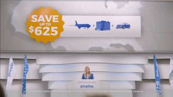 Priceline.com TV Spot, 'Family Beach Trips' Featuring Kaley Cuoco - Thumbnail 3