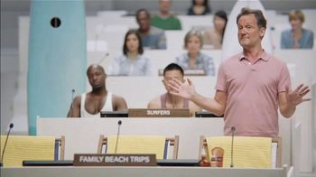 Priceline.com TV Spot, \'Family Beach Trips\' Featuring Kaley Cuoco