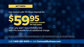 Comcast Business 75 Mbps Internet TV Spot, 'Separate Networks' - Thumbnail 8