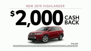 2019 Toyota Highlander TV Spot, 'Pick Your Adventure: The List' [T2] - Thumbnail 9