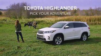 2019 Toyota Highlander TV Spot, 'Pick Your Adventure: The List' [T2]