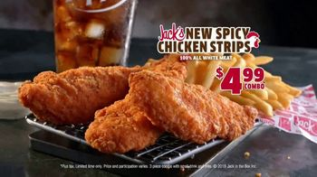 Jack in the Box $4.99 Spicy Chicken Strips Combo TV Spot, 'Spice Them Up' - 482 commercial airings