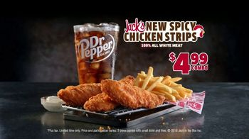 Jack in the Box $4.99 Spicy Chicken Strips Combo TV Spot, 'Spice Them Up' - Thumbnail 8