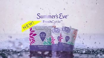 Summer's Eve FreshCycle Cleansing Cloths TV Spot, 'Redefine' - Thumbnail 5