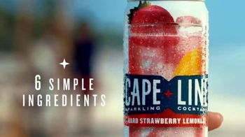 Cape Line Sparkling Cocktails TV Spot, 'Cocktails Without the Guilt' Song by Lizzo - Thumbnail 7