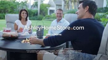 Ashley HomeStore One Day Sale TV Spot, 'Limited Time Savings: Fire Pit and Bar Table' Song by Midnight Riot - Thumbnail 9