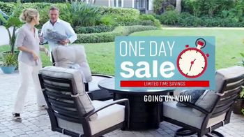 Ashley HomeStore One Day Sale TV Spot, 'Limited Time Savings: Fire Pit and Bar Table' Song by Midnight Riot - Thumbnail 3