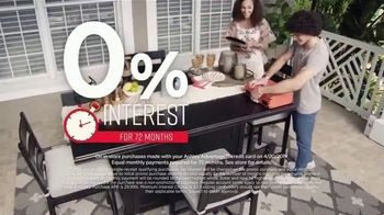 Ashley HomeStore One Day Sale TV Spot, 'Limited Time Savings: Fire Pit and Bar Table' Song by Midnight Riot - Thumbnail 4
