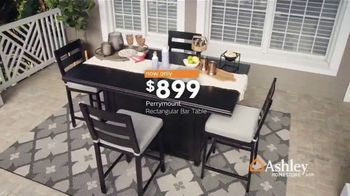 Ashley HomeStore One Day Sale TV Spot, 'Limited Time Savings: Fire Pit and Bar Table' Song by Midnight Riot - Thumbnail 7