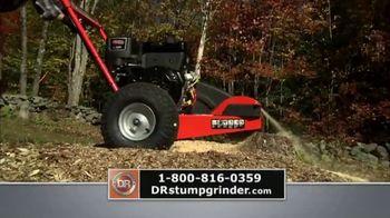DR Stump Grinder TV Spot, 'Stump Removal Solution'