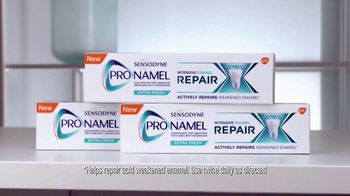 Sensodyne Pronamel Repair TV Spot, 'Repair What's Been Damaged'