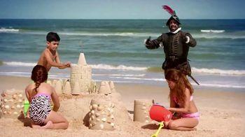 Florida's Historic Coast TV Spot, 'El Conquistador Returns: Beaches' - Thumbnail 2