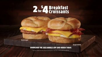 Jack in the Box 2 for $4 Breakfast Croissants TV Spot, 'Envy' - Thumbnail 9