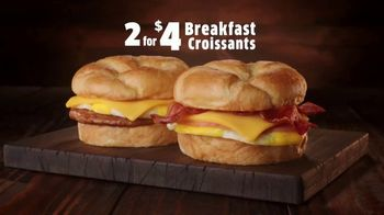 Jack in the Box 2 for $4 Breakfast Croissants TV Spot, 'Envy' - Thumbnail 1