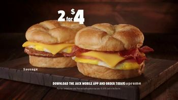 Jack in the Box 2 for $4 Breakfast Croissants TV Spot, 'Envy' - Thumbnail 8
